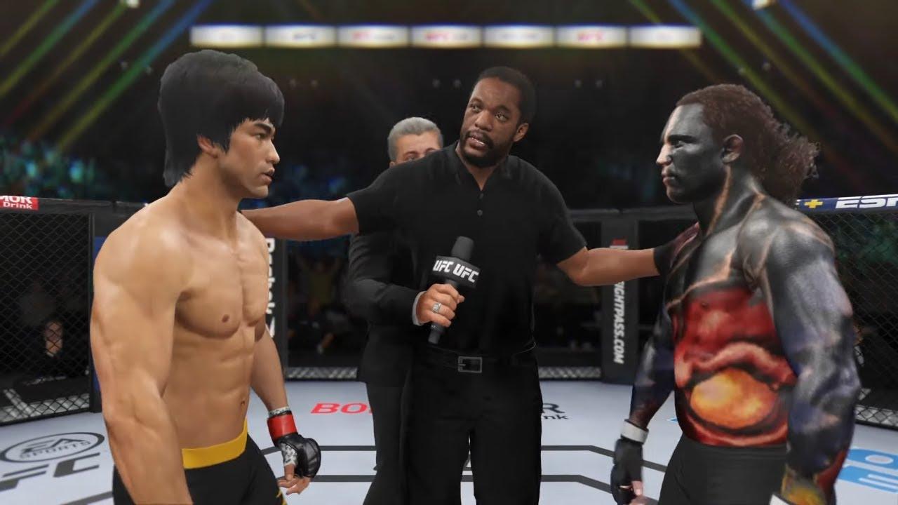 UFC 4 I Bruce Lee vs. Dark Indian (EA Sports UFC 4)