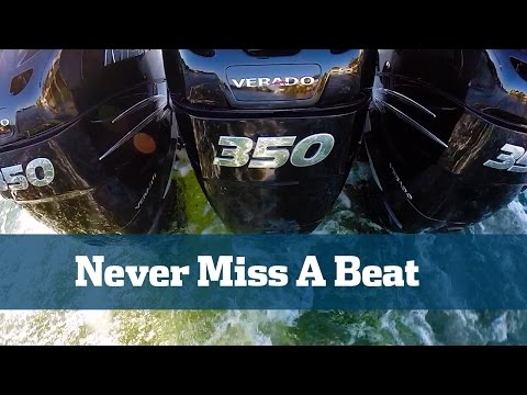 Mercury Verado 350 HP Engine Review - Florida Sport Fishing TV