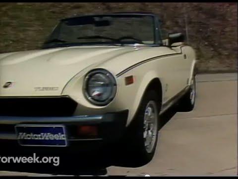 MotorWeek | Retro Review: '82 Fiat Spider Turbo - YouTube