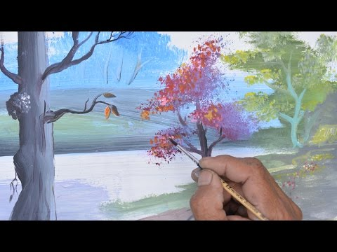How to Paint a Landscape with Watercolor
