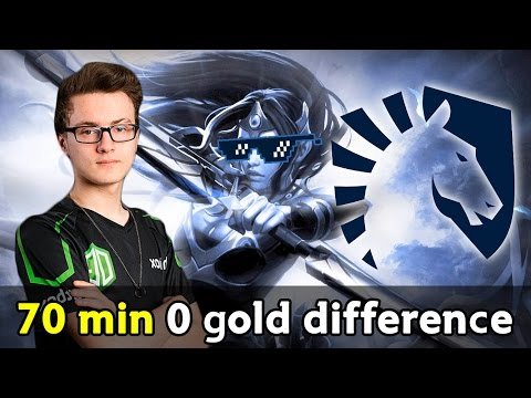 70 min 0 gold difference — epic game Liquid vs VG