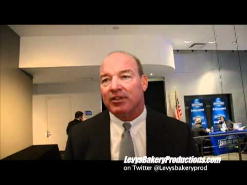 Interview w/ Marty Lyons at 2012 College Football HOF Announcement