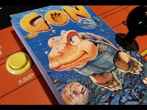 CGR Comics - GON Vol. 4 manga review