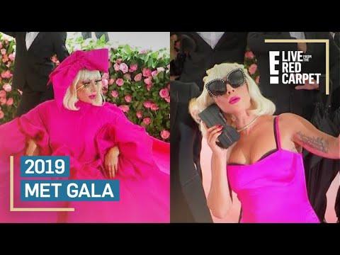 Lady Gaga&39;s Epic Entrance at 2019 Met Gala Red Carpet  E Red Carpet & Award Shows