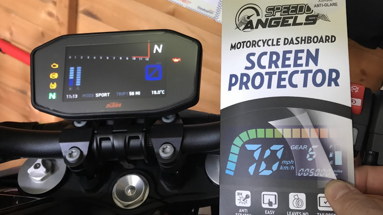 Speedo Angels - Motorcycle Dashboard/Instrument Cluster Screen