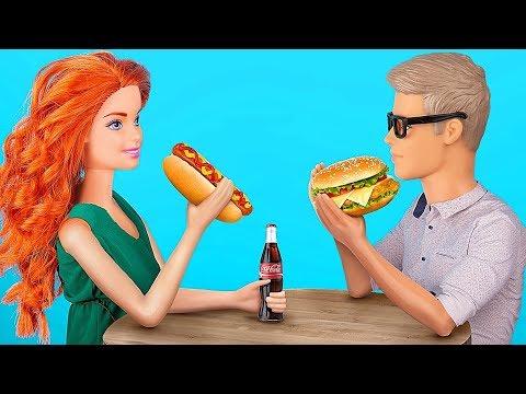 7 Recetas De Comida Rápida Pequeñas Para Barbie Que Tú Puedes Comer / Locos Trucos Para Tu Barbie
