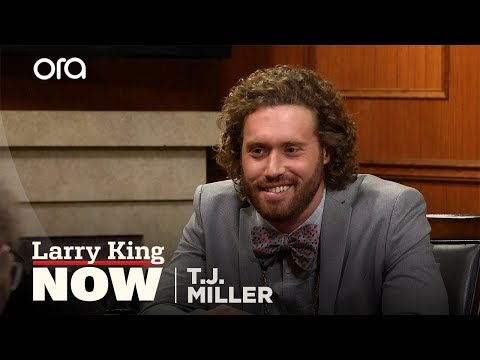 T.J. Miller addresses leaving 'Silicon Valley' | Larry King Now | Ora.TV