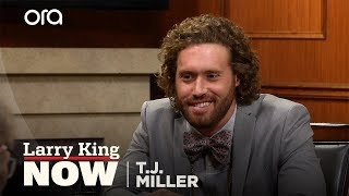 T.J. Miller addresses leaving