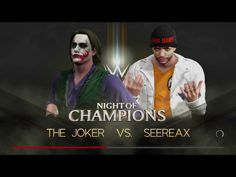 The Final Showdown! The Joker Vs. SeeReax in WWE 2k17 Parody 🤣