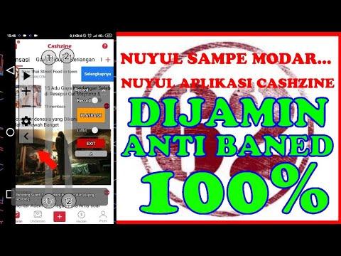 nuyul-aplikasi-cashzine-dijamin-anti-baned-100%