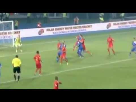 Makedonija - Hrvatska 1:2 (Ivan Rakitić)