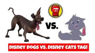 Disney Dogs vs. Disney Cats Tag! | #T4OMVP