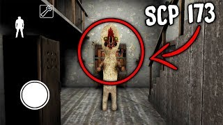 I found SCP-173 in Granny Horror Game... IT KILLED GRANNY! (Granny Mobile Horror Game)