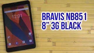 Розпакування Bravis NB851 8'' 3G Black