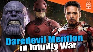 Daredevil Easter Egg Confirmed in Avengers Infinity War?