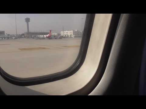 Flight on Jet Airways ATR72-500  Bangalore-Madurai