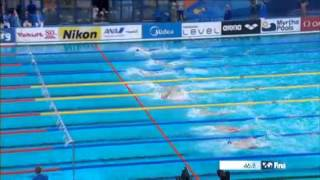 Mondiaux de natation : revivez le 100 m dos de Camille Lacourt, médaillé d'argent