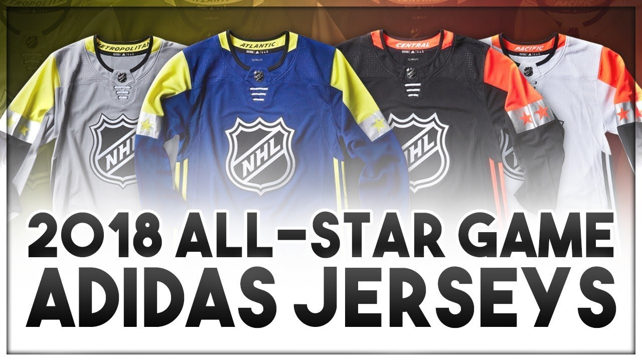 RANKING THE 2018 NHL ALL STAR GAME ADIDAS JERSEYS! - YouTube cd60486f286