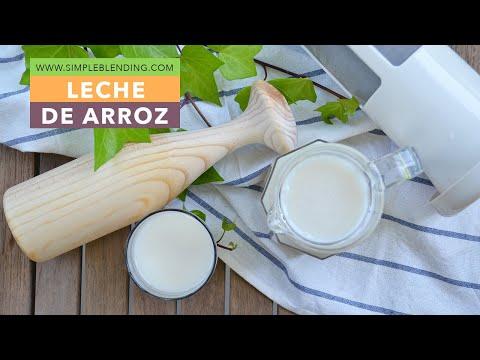 Cómo hacer leche de arroz   Con arroz hervido   Receta casera