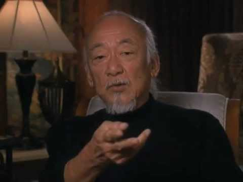 Pat Morita discusses getting cast as Mr. Miyagi in The Karate Kid