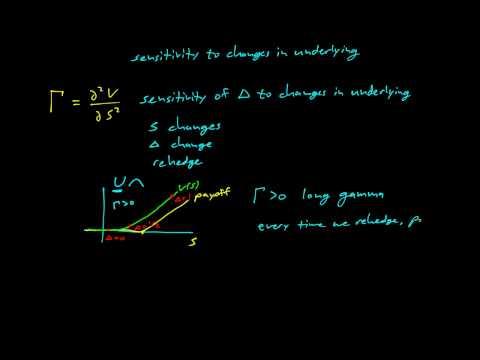 Paul Wilmott on Quantitative Finance, Chapter 7, The Greeks