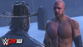 Wwe 2k18 trailer - triple h encounters undertaker - streak mode - gameplay notion (ps4/xb1)