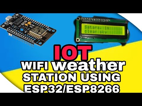 iot | Wifi weather station using esp32 / esp8266
