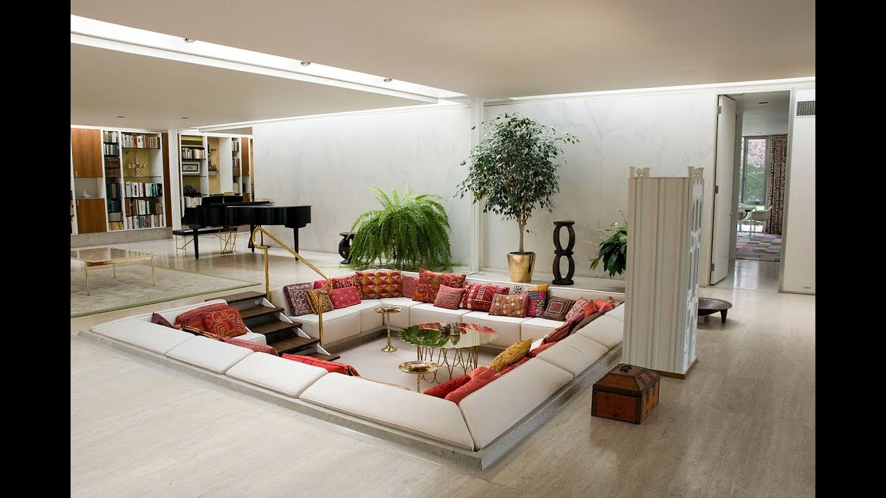 Sunken Living Room Designs – 10 Amazing Ideas - YouTube