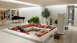 Sunken Living Room Designs – 10 Amazing Ideas