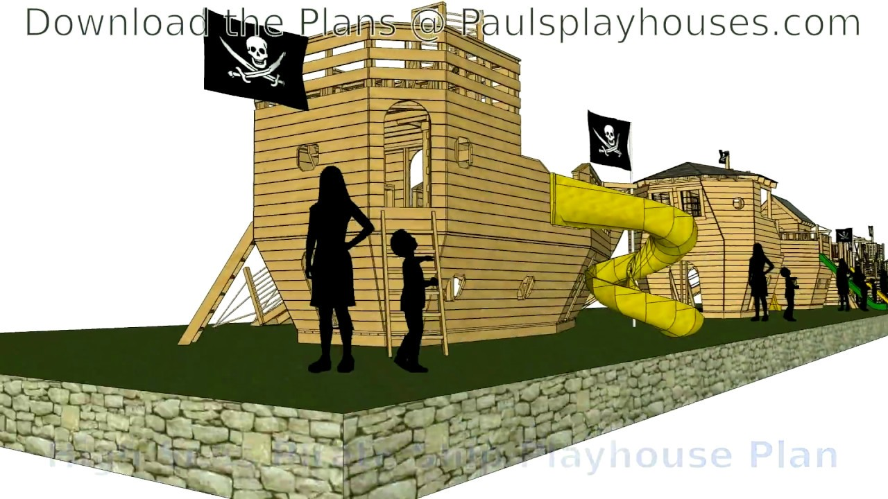 8 pirate ship plans you can build paulsplayhouses com youtube