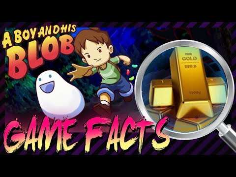 "Der ""krasseste"" Blob-Fakt & Atari verlost Gold - Random Game Facts #124"