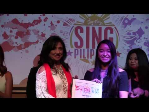 SingPilipinas Los Angeles - Announcement of Champion