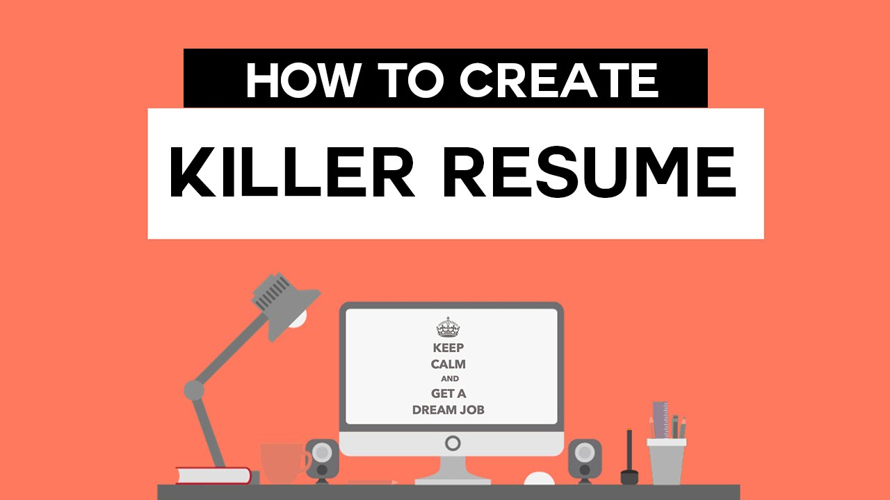 How to Create Killer Professional Resume Online Free YouTube