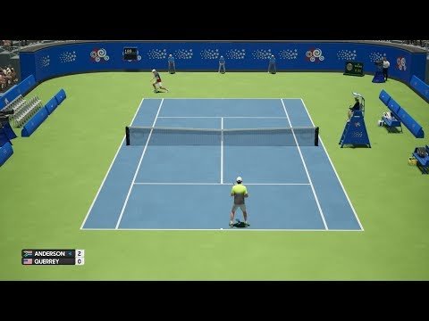 AO Tennis - Kevin Anderson vs Sam Querrey - New York Open - PS4 Gameplay