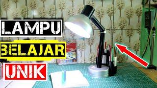 Cara membuat lampu balajar led sederhana unik dari paralon murah&mudah