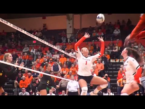 Illini Volleyball | Jordyn Poulter Career Highlights
