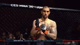John Gotti III KO's Opponent in Under 30 Seconds in MMA! (Full Fight)