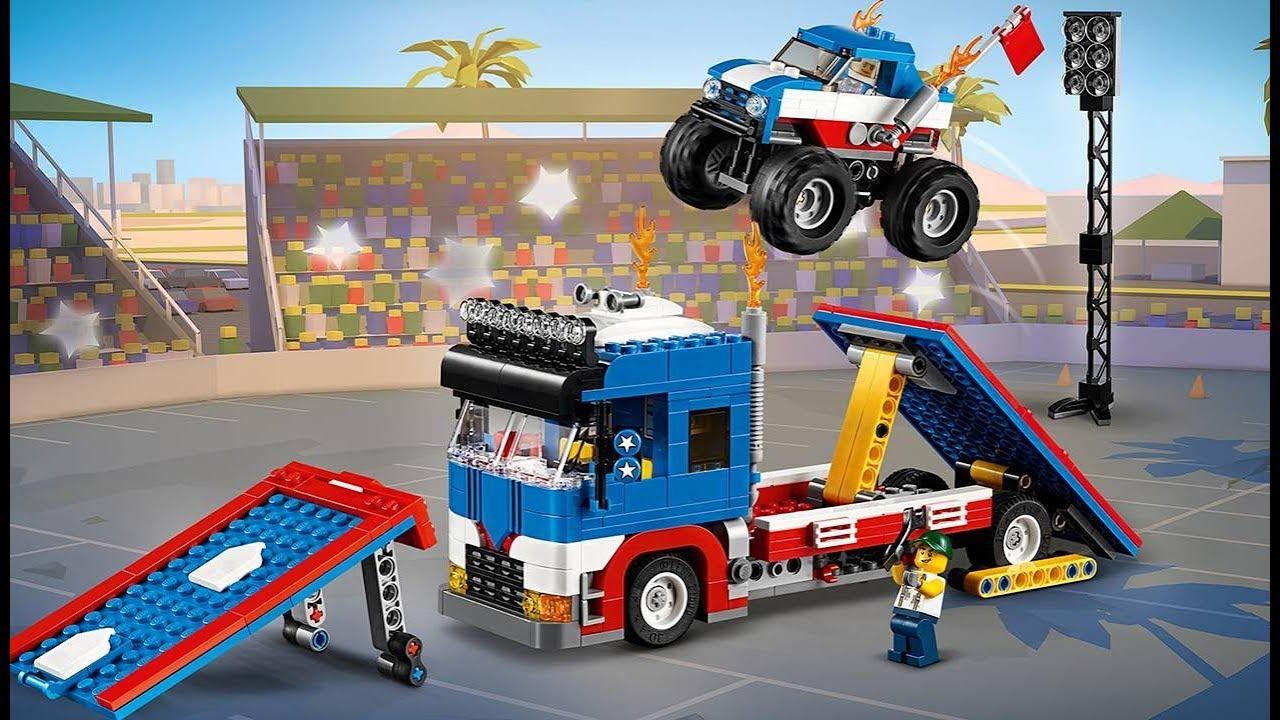 Lego Creator 3in1 Monster Trucks Stunt Show 31085