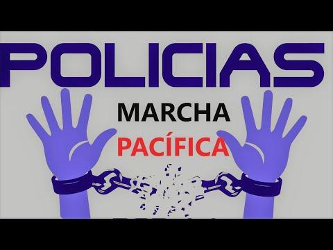 ??♂️¡¡ MARCHA PACÍFICA EN MÁLAGA !!?♂️? POLICÍAS POR LA LIBERTAD?