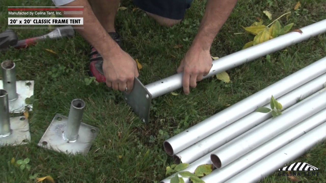 20u0027 x 20u0027 Classic Frame Tent - Installation Procedure. Celina Tent & 20u0027 x 20u0027 Classic Frame Tent - Installation Procedure - YouTube