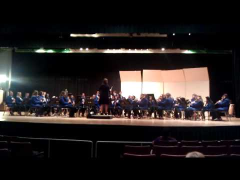 Joseph R Bolger Middle School Band Competition2011
