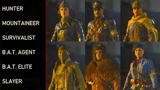 How To Unlock All 6 Secret Characters in WWII Zombies! (All Secret Character Challenges and Unlocks)