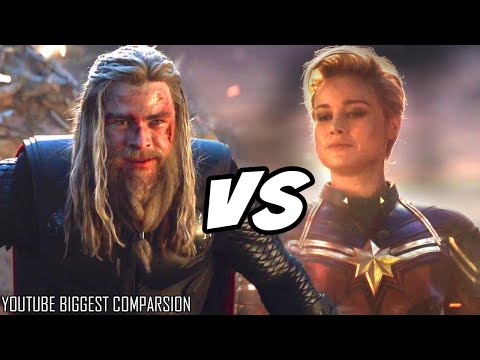 THOR VS CAPTAIN MARVEL After Avengers Endgame HINDI Explained