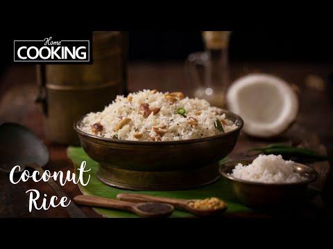 coconut-rice-|-nariyal-chawal-|-variety-rice-recipes-|-lunch-recipes