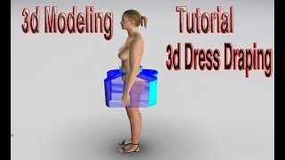 3d Tutorail | 3d Modeling Software | 3d Design | IOptitex 3d Tutoial | 3d Skirt Tutorial