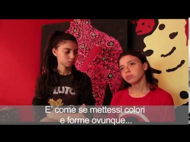La Valigia DellArtista : Les soeurs Hiba et Ghita Khamlichi