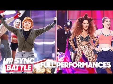 "Charli XCX's ""Shape of You"" vs. Rita Ora's ""Wannabe""  Lip Sync Battle"