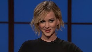 Jennifer Lawrence Reveals Vomitting at Oscars & Being a Potterhead - VIDEO