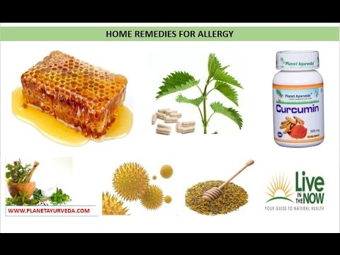 Home Remedies for Allergy – Ayurvedic Treatment