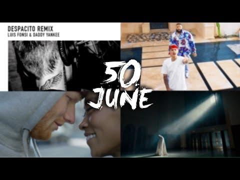 Top 50 Global Songs & Hits of June 2017 Kygo, Ed Sheeran, Bruno Mars, Jason Derulo